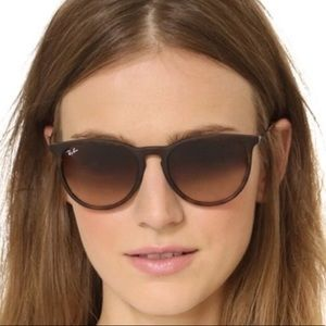 New Ray Ban Erika Tortoise RB4171 54mm Sunglasses